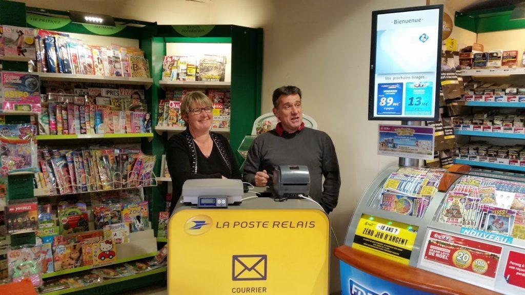Lagence postale est transférée au bureau de tabac la gouesnière